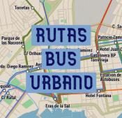 Plano de Buses urbanos / Bus Route map - 2 Mb