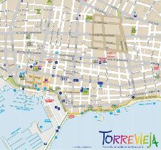 Plano tur�stico de Torrevieja - 4,6 Mb