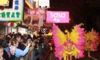 Desfile en Hong Kong