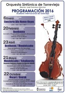 Mozart/ Dvorak @ Auditorio Internacional de Torrevieja   Torrevieja   Comunidad Valenciana   España
