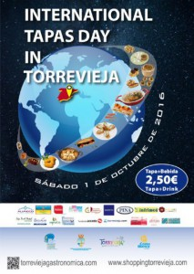 International Tapas Day in Torrevieja @ Varios bares y restaurantes de la localidad