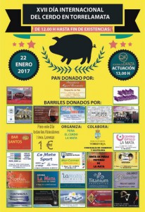 XVII Día Internacional del cerdo en Torrelamata @ Día Internacional del Cerdo | La Mata | Comunidad Valenciana | España