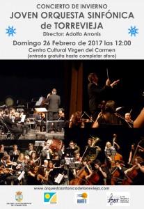 Concierto Joven Orquesta Sinfónica de Torrevieja @ Centro Cultural Virgen del Carmen   Torrevieja   Comunidad Valenciana   España
