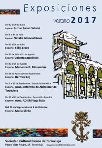 Exposición de verano 2017 Felix Bravo @ Sociedad Cultural Casino de Torrevieja | Los Lunas | New Mexico | Estados Unidos