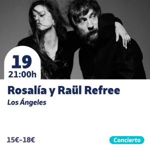 Rosalía y Raül Refree @ Auditorio Internacional | Torrevieja | Comunidad Valenciana | España