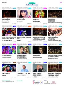 El amor está en el aire @ Auditorio Internacional | Torrevieja | Comunidad Valenciana | España