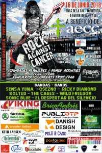 Rock against Cancer @ Eras de la Sal | Torrevieja | Comunidad Valenciana | España