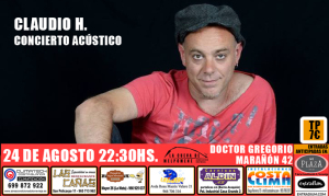 Claudio H. Concierto Acústico @ La Cueva de Melp?mene | Torrevieja | Comunidad Valenciana | Espa