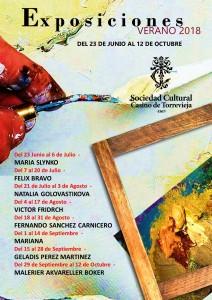 Exposiciones Verano 2018 Geladis Perez Martinez @ Sociedad Cultural Casino | Torrevieja | Comunidad Valenciana | España