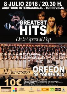 Greatest hits de la ópera pop @ Auditorio Internacional | Torrevieja | Comunidad Valenciana | Espa