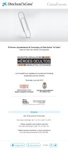 "Héroes ocultos @ Obra Social "" La Caixa"" | Torrevieja | Comunidad Valenciana | España"