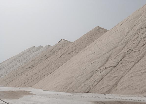 Montones de sal