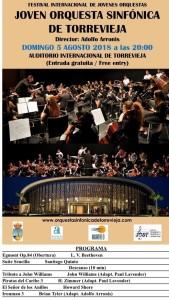 Joven Orquesta Sinfónica de Torrevieja @ Auditorio Internacional | Torrevieja | Espa