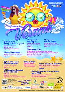Programación de verano 2018 CIAJ @ Centro de Información y Animación Juvenil, CIAJ | Torrevieja | Comunidad Valenciana | España