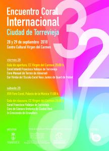 Encuentro Coral Internacional @ Centro Cultural Virgen del Carmen | Torrevieja | Comunidad Valenciana | España