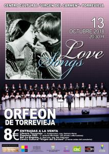 Love Songs @ Centro Cultural Virgen del Carmen | Torrevieja | Comunidad Valenciana | España