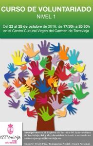 Curso de voluntariado Nivel I @ Centro Cultural Virgen del Carmen | Torrevieja | Comunidad Valenciana | España