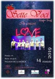 "Sette Voci in Concert "" Love"" @ Palacio de la música"