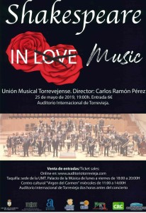 Shakespeare in Music @ Auditorio Internacional de Torrevieja