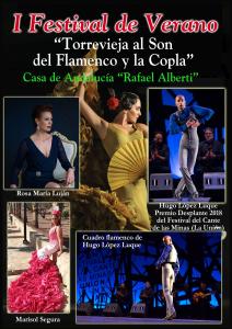 I Festival de Verano de Torrevieja al Son del Flamenco y la Copla @ Auditorio de Torrevieja