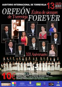 Éxitos de Siempre - Orfeón de Torrevieja @ Auditorio de Torrevieja