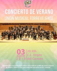 Concierto de Verano UMT @ Centro Cultural Virgen del Carmen