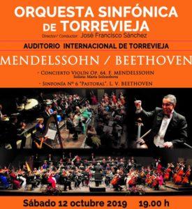 OST Mendelssohn – Beethoven @ Auditorio de Torrevieja