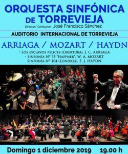 Orquesta Sinfónica de Torrevieja @ Auditorio de Torrevieja