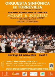 ORQUESTA SINFÓNICA DE TORREVIEJA: MOZART & SCHUBERT @ Auditorio Internacional de Torrevieja