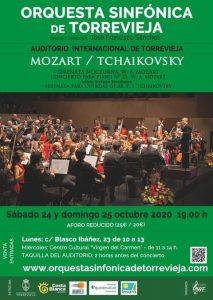 ORQUESTA SINFÓNICA DE TORREVIEJA: MOZART / TCHAIKOVSKY @ Auditorio Internacional de Torrevieja