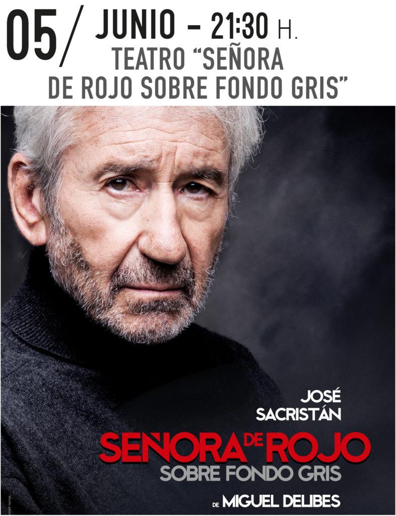 Teatro: Señora de Rojo sobre fondo gris @ Teatro Municipal de Torrevieja