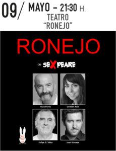 Teatro: Ronejo @ Teatro Municipal de Torrevieja