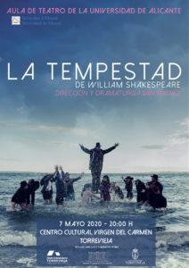 Teatro: La Tempestad @ Centro Cultural Virgen del Carmen