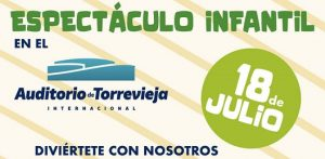 ESPECTÁCULO INFANTIL @ Auditorio de Torrevieja