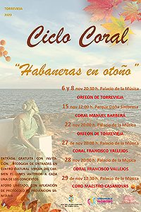 Habaneras en Otoño- CORAL FRANCISCO VALLEJOS @ Palacio de la Música