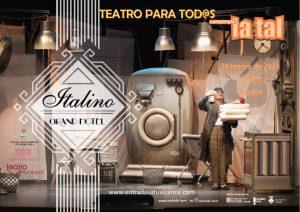 Teatro para todos los públicos: Italino Gran Hotel @ Teatro Municipal de Torrevieja
