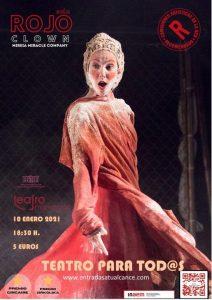 Rojo Clown @ Teatro Municipal