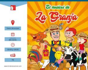 """El musical de """" La Granja"""" @ Teatro Municipal deTorrevieja"""