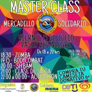 Master Class y Mercadillo Solidario @ Paseo Vista Alegre | Torrevieja | Comunidad Valenciana | Espa