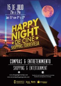 Happy Night de Cine @ calles de Torrevieja
