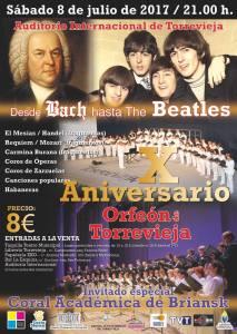 Desde Bach hasta the Beatles @ Auditorio Internacional | Torrevieja | Espa