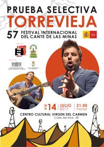 Prueba selectiva Cante de las Minas @ Centro Cultural Virgen del Carmen | Torrevieja | Comunidad Valenciana | Espa