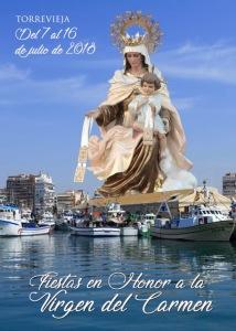 Fiestas en honor a la Virgen del Carmen @ Recinto Portuario | Torrevieja | Comunidad Valenciana | Espa