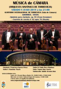 Música de Cámara: Krommer / Haydn @ Auditorio Internacional de Torrevieja