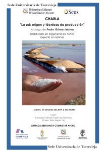 La sal: origen y técnicas de producción @ Casino de Torrevieja