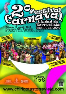 Festival de Carnaval Ciudad de Torrevieja @ Eras de la Sal