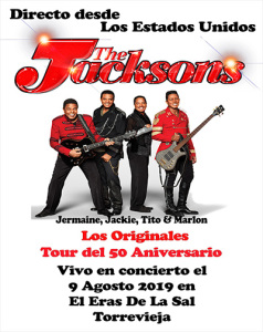 The Jacksons @ Eras de la Sal