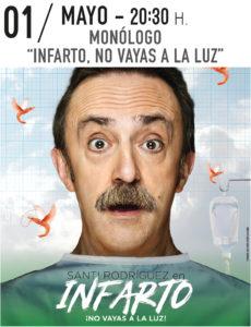 Monólogo: Infarto, no vayas a la luz @ Teatro Municipal de Torrevieja