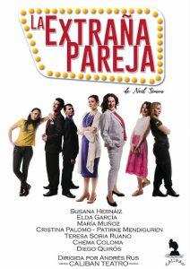 Teatro: La extraña pareja @ Teatro Municipal de Torrevieja