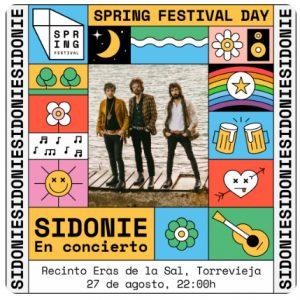 Sidonie - Música y Sal @ Eras de la Sal